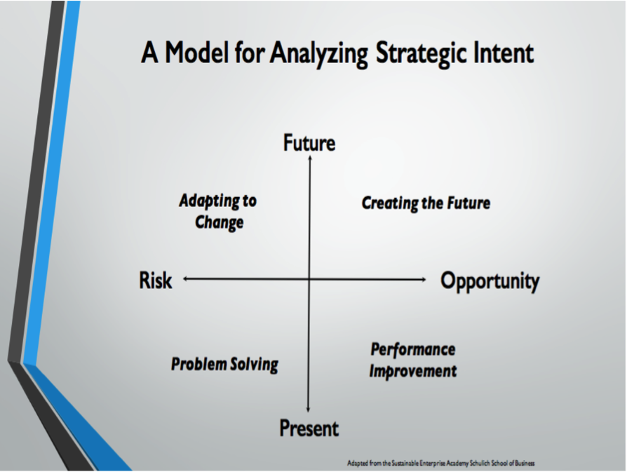 A Model for Analyzing Strategic Intent